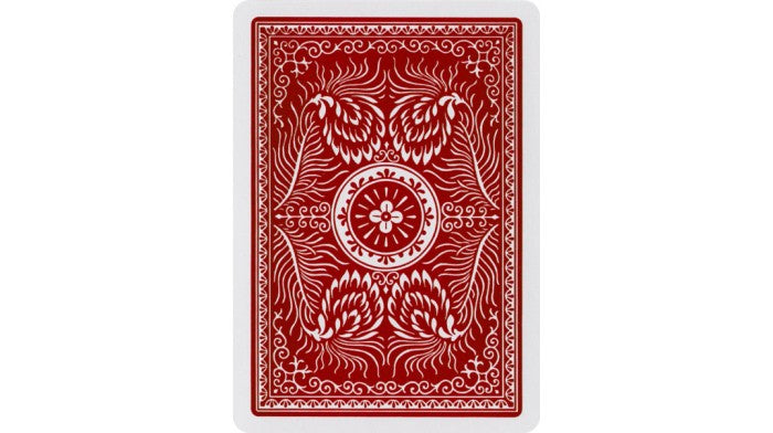 Aladdin 1001 Smooth Finish Red Playing Cards