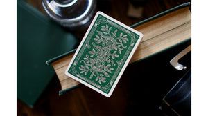 Monarchs Green Playing Cards