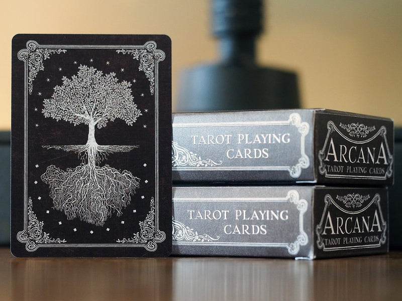 Arcana Full Tarot Dark Playing Cards