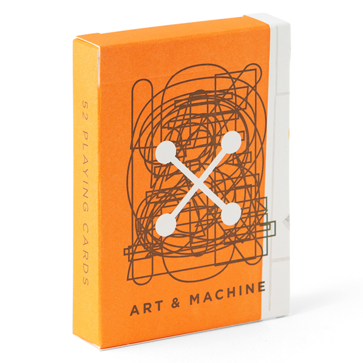 Art and Machine Playing Cards