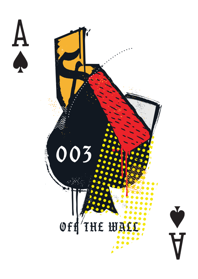 Svngali 03 Off the Wall Playing Cards