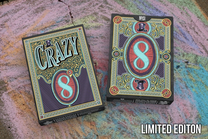 Crazy 8's Playing Cards