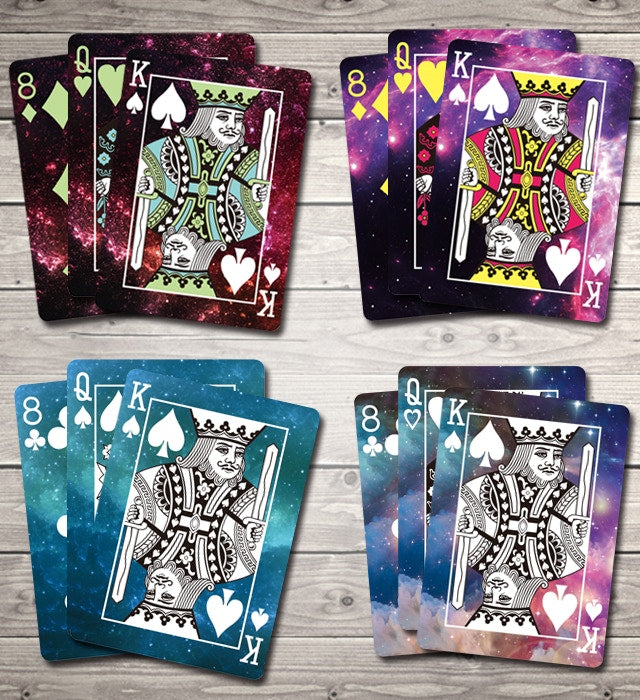 Bicycle Constellation Series Pisces Playing Cards
