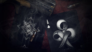 Artifice Black Club Playing Cards