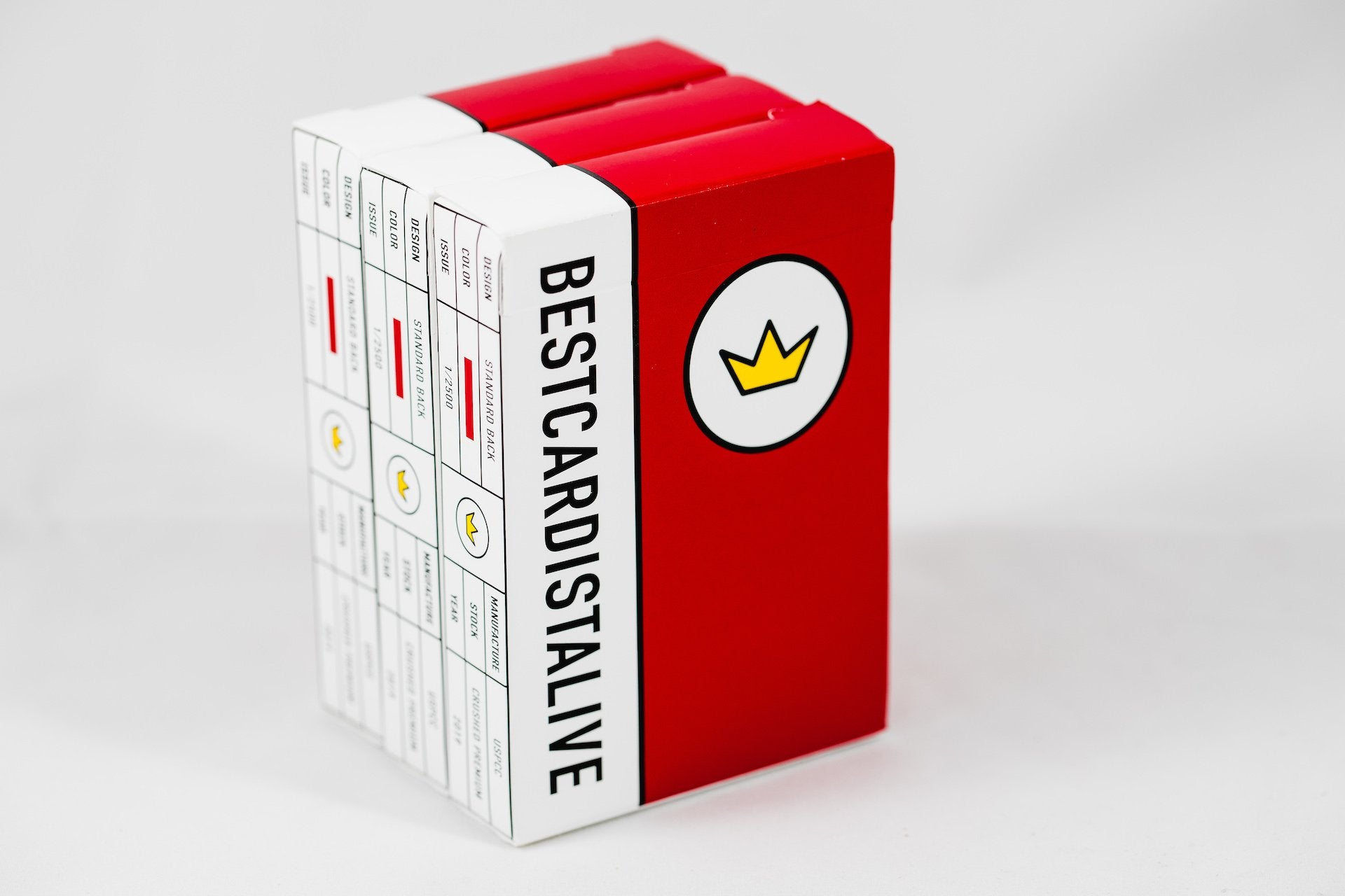 Best Cardist Alive Red Playing Cards