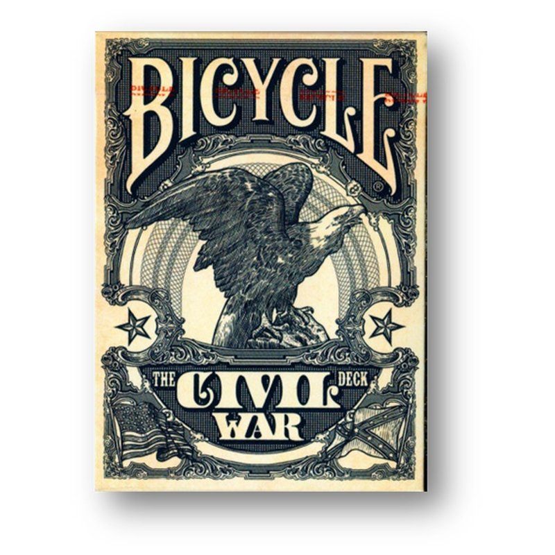 Bicycle Civil War Blue Playing Cards