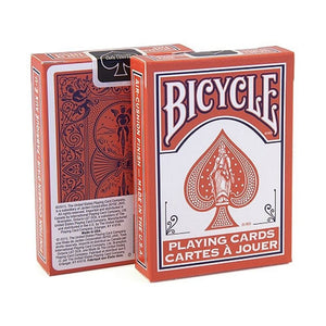 Bicycle Fashion Coral Playing Cards