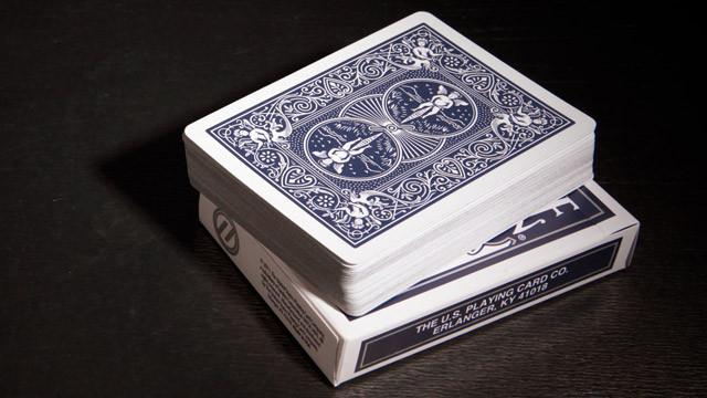 Bicycle Titanium Blue Playing Cards