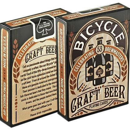 Bicycle Craft Beer Playing Cards