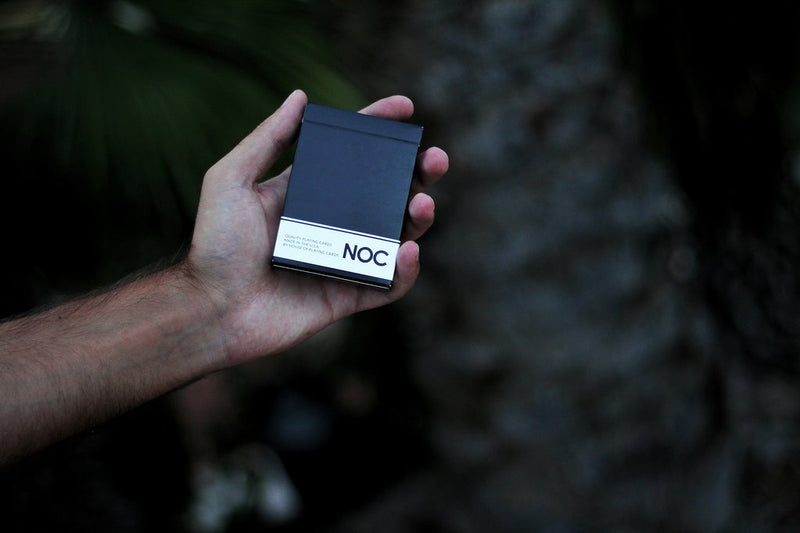 NOC Originals Black Playing Cards