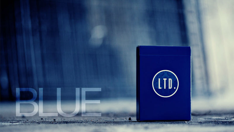 LTD Blue Playing Cards