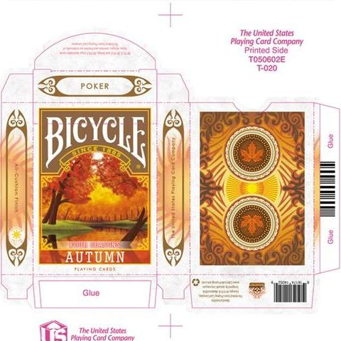 Bicycle Four Seasons Autumn Playing Cards