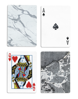 Bloc Marble Playing Cards