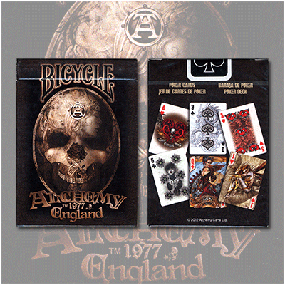 Bicycle Alchemy England v2 Playing Cards