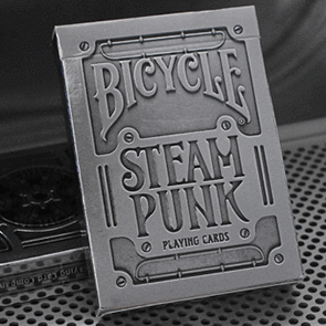 Bicycle Steampunk Silver Playing Cards