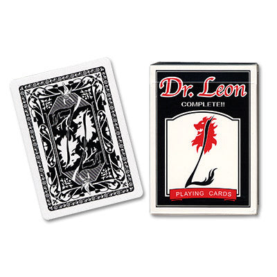 Dr. Leon Black Playing Cards