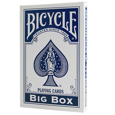 Bicycle Jumbo Blue Playing Cards