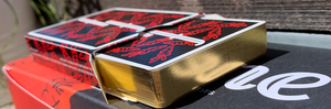 Fontaine Carrots v3 Gilded Playing Cards