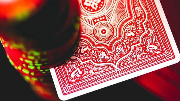 Cohorts Red (Marked) Playing Cards