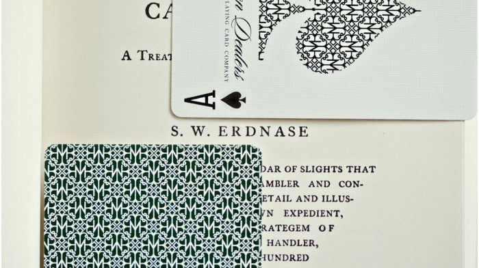 Madison Dealers Erdnase Green (Marked) Playing Cards