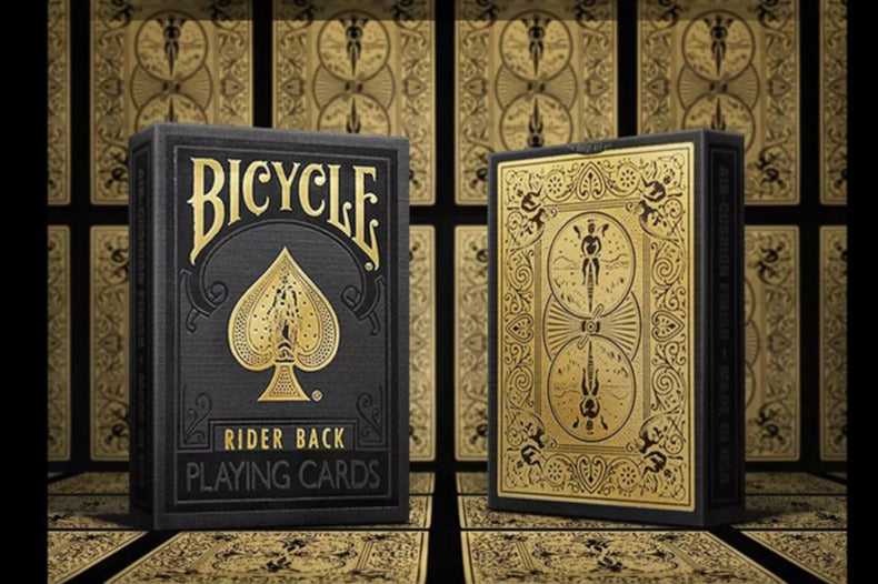 Bicycle Black and Gold Playing Cards