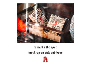 Salt and Bone Playing Cards