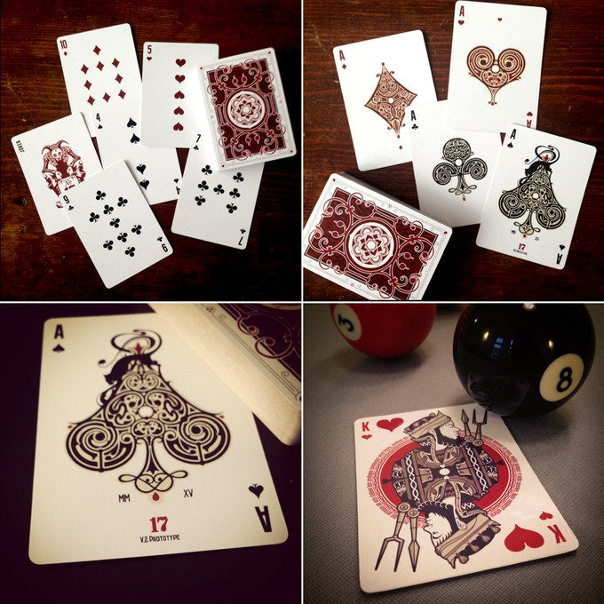 Bicycle No. 17 Playing Cards