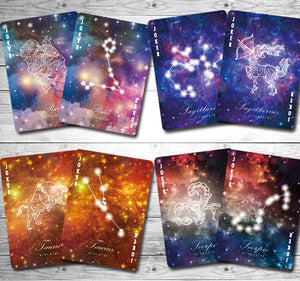 Bicycle Constellation Series Taurus Playing Cards