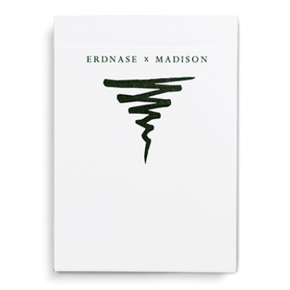 Erdnase X Madison Green Playing Cards