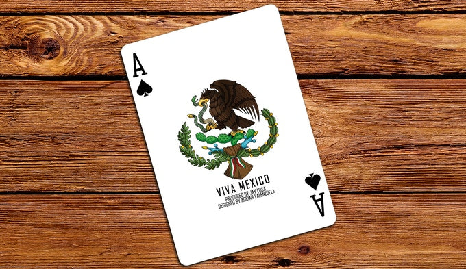 Viva Mexico Playing Cards