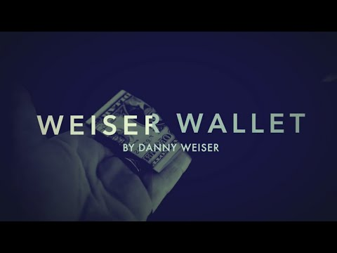 Weiser Wallet (Instructions and Gimmick)