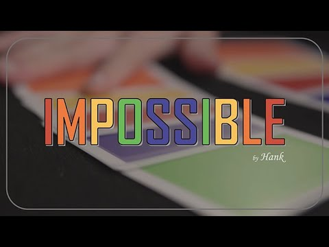 Impossible (Instructions and Gimmick)