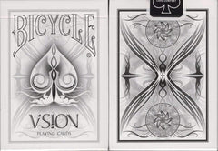 Bicycle Vision White Playing Cards