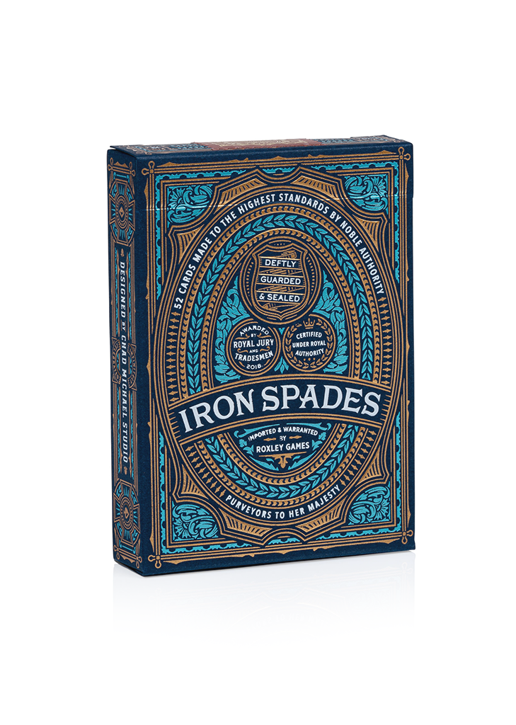 Iron Spades Playing Cards