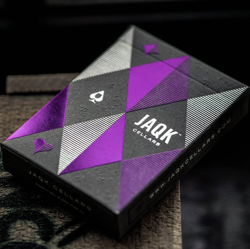 JAQK Cellars Amethyst Edition Playing Cards