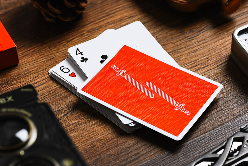King Slayer Red Playing Cards