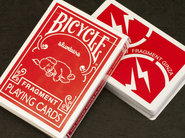 Bicycle Fragment Red Playing Cards