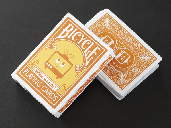 Bicycle Who Watch Playing Cards