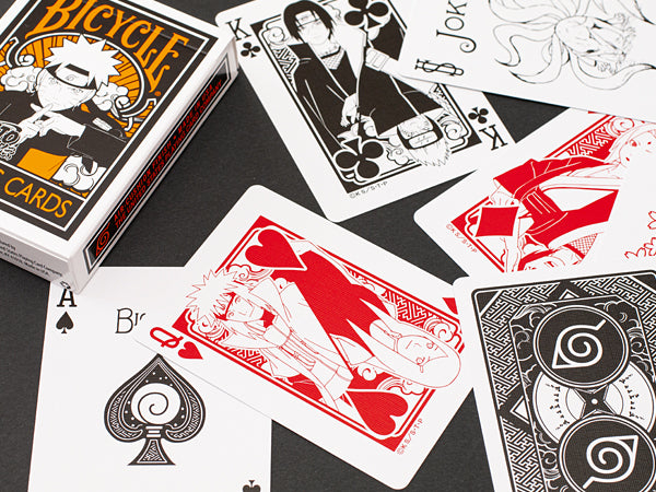 Bicycle Naruto Shippuden Playing Cards