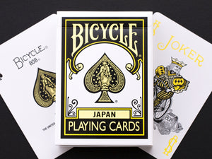 Bicycle Japan Yellow Playing Cards