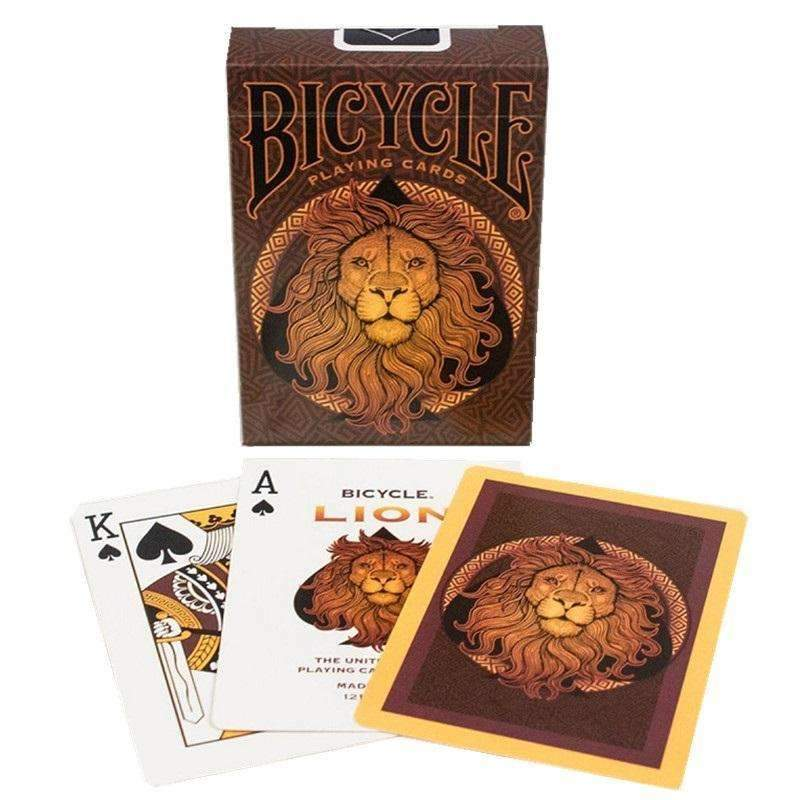 Bicycle Lion Playing Cards