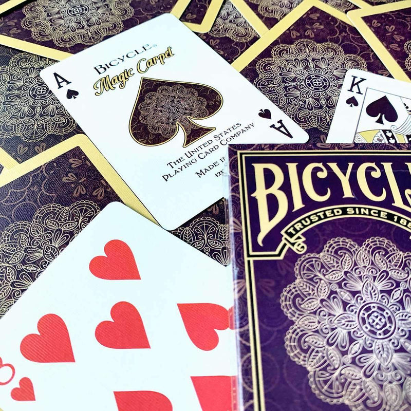Bicycle Magic Carpet Playing Cards