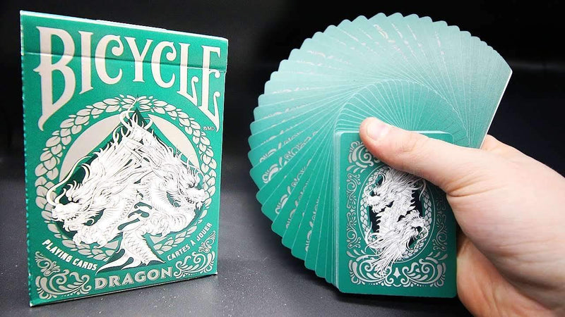 Bicycle Dragon Green Playing Cards