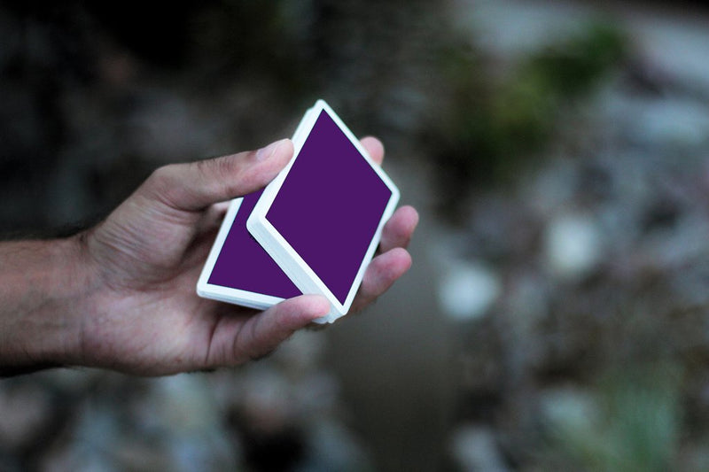 NOC Originals Purple Playing Cards