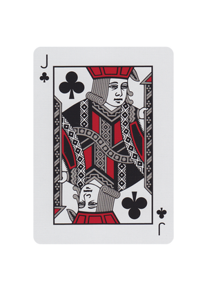 Peau Doux Silver Playing Cards