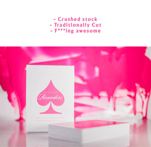 Madison Rounders Pink Playing Cards