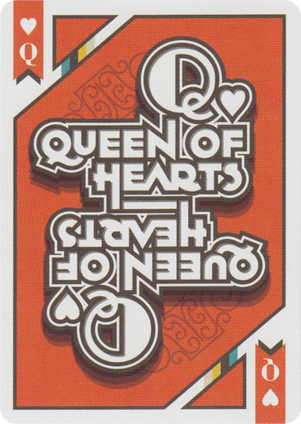 A Typographer's Deck of Playing Cards