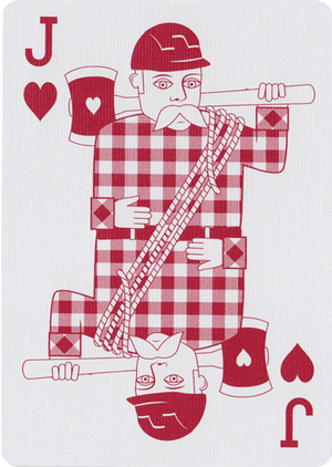 Bicycle Lumberjack Playing Cards