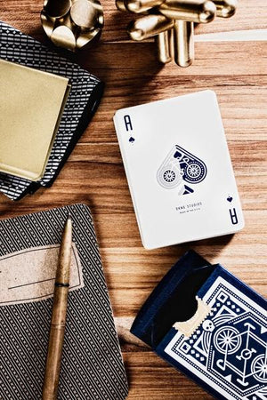 DKNG Blue Wheels Playing Cards
