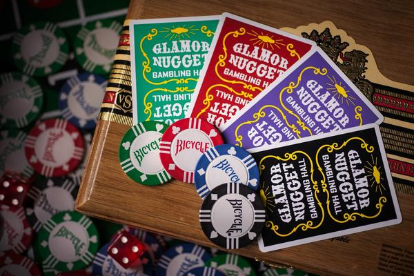 Glamor Nugget Playing Cards